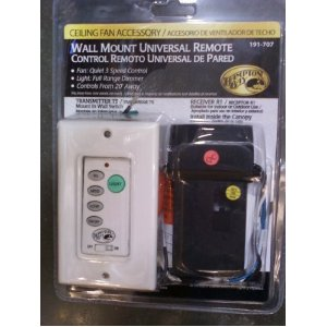 Hampton Bay Universal Wall Mount Remote Control