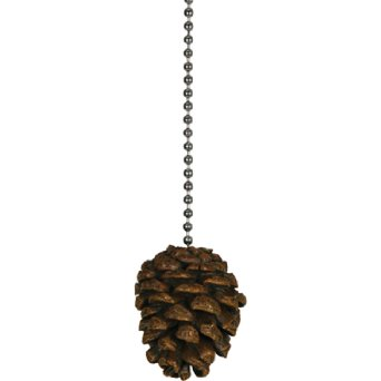 Rivers Edge Products Pine Cone Fan Pull